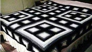 Colchas Tejidas A Crochet Para Camas Kênh Video Giải Trí Dành Cho