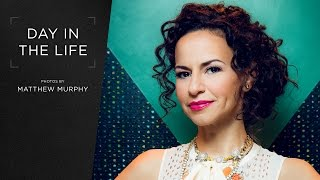 Broadway.com Day In The Life With HAMILTON Star Mandy Gonzalez — Photos By Matthew Murphy