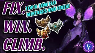 Carry Low Elo: Top 8 Common Mistakes And How To Fix Them!