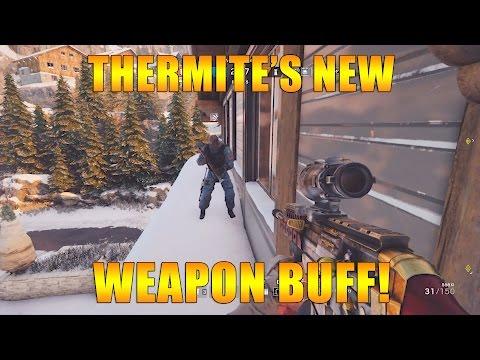 Thermite's New Weapon BUFF - Rainbow Six Siege