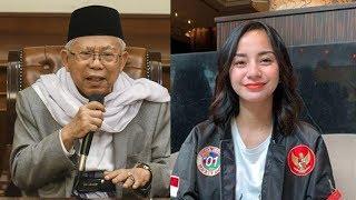 Di Sosmed Banyak Menyindir Ma'ruf Amin, Balasan Kirana Laraswati: Hati-Hati Kualat