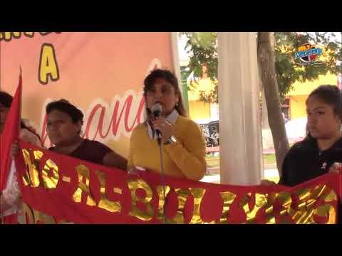 RADIO KALIDAD 102.7 - LUNAHUANA REALIZA CON EXITO MARCHA CONTRA EL BULLYING