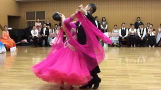 社交ダンス ワルツ 第1位 第13回ヤングサークル10ダンス選手権 若者サークル競技会
