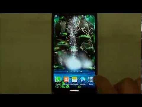 Video of 3D Waterfall Live Wallpaper