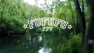 Pilica River Blue Springs FPV drone visit during the rain / Niebieskie Źródła z drona FPV