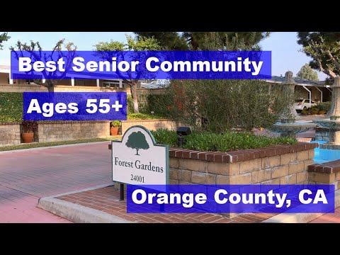 Highly Desired Social Senior Community in Lake Forest, CA. Forest Gardens Mobile Home Park