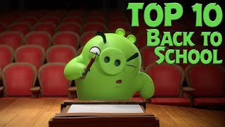 Angry Birds   Top 10 Angry Birds Back To School Moments