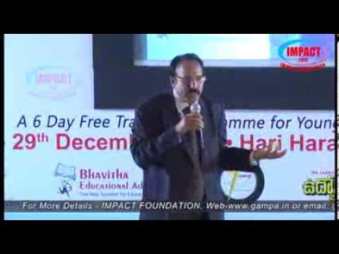 Mind Management|V Ravi Kumar | TELUGU IMPACT Hyd Dec 2013