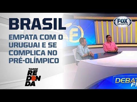 Brasil com a corda no pescoço no Pré-Olímpico