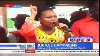 Moses Kuria pitches camp in Kisii County as they campaign for Jubilee