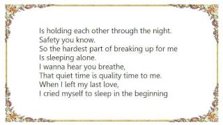 Chrisette Michele - Interlude In My Bed - Sleeping Alone Lyrics