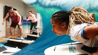 We Tried An Indoor Surfing Workout Class