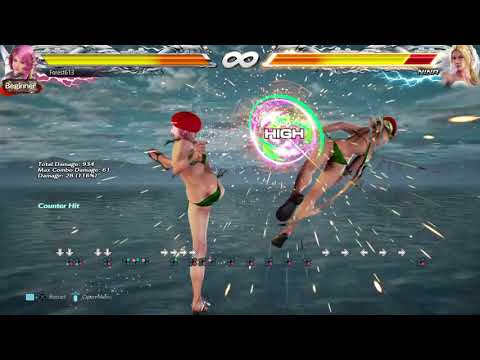 Alisa CH 4 and d+3+4 Combos Maybe Non Optimal Tekken 7 PS4 Version by Forest613