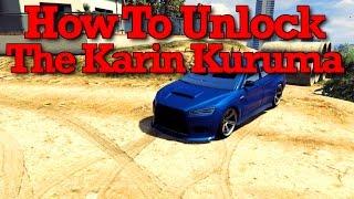 GTA 5: How To Unlock The Karin Kuruma In Free Roam (GTA Online Karin Kuruma Guide & Customization)