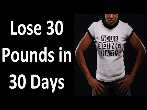 Video FUCK Being FAT. DO THIS & Lose 30 Pounds in 30 Days