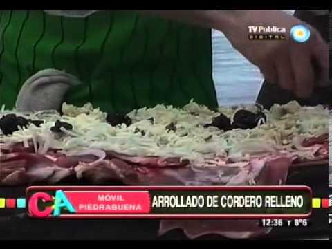 Arrollado de cordero patagónico Parte 1