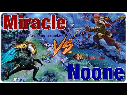 MIRACLE Phantom Assassin vs NOONE Monkey King - MEELE MID WAR