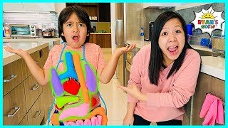 Learn About Parts Of Your Body For Kids | Educational Video Ryans World