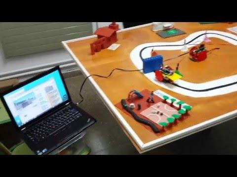 Projecte robòtica escola Sol i Vent de Vilafant (Girona).