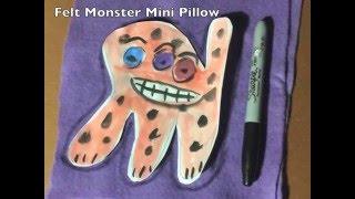 Felt Monster
