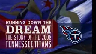 "2008 Tennessee Titans Team Yearbook ""Running Down the Dream"""