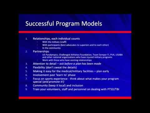 Military and Program Recruitment Webinar - Disabled Sports USA