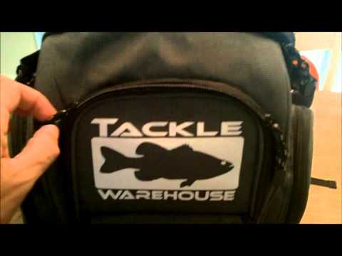 Bass fishing tackle bag review