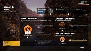 Season 10 Week 2 Task Force Challenge Completed - Ghost Recon Wildlands