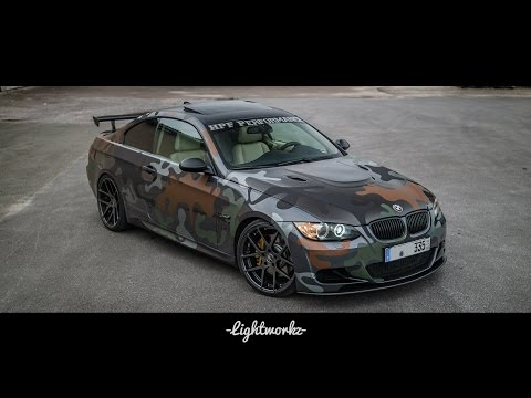 "BMW e92 335i Camouflage JB4 ZP.07 Z-Performance 20"" Eibach HPF exhaust esd Performance Tuning M3"