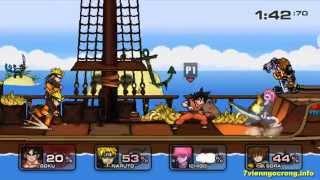 Game Songoku 7 - Game Son Goku đánh nhau rất hấp dẫn