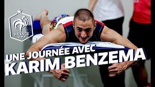 Equipe de France, Coupe du monde 2014: Une journée avec Karim Benzema au Brésil ! I FFF 2014