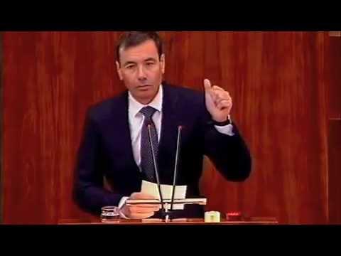 """Tomás Gómez: """"Con el PP Madrid lidera los recortes de derechos y los tasazos""""."""