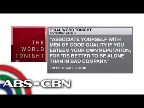 [ABS-CBN]  Final Word – November 23, 2019 | ANC