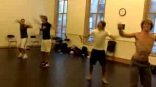 90: All Time Low dance rehearsals for 'Poppin Champagne' mus