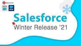 Top 5 Features Salesforce Winter Release '21