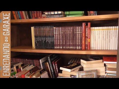 Estante de armario para libros reforzado