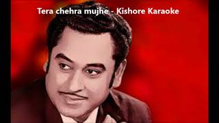 Tera chehra karaoke Kishore Kumar - YouTube