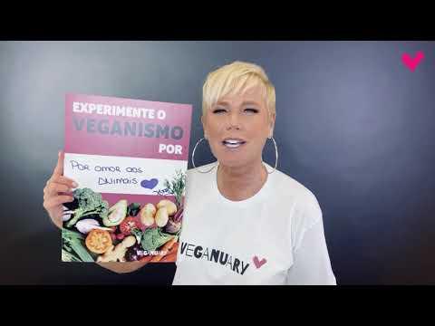 Xuxa Meneghel participa de campanha em prol do veganismo - O Fuxico