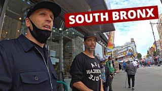 Inside New York City's MOST DANGEROUS HOOD - South Bronx 🇺🇸