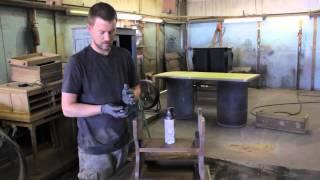 How To Redo Bedroom Furniture : Furniture Restoration