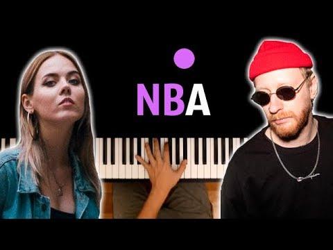 RSAC - NBA (Не мешай) ● караоке | PIANO_KARAOKE ● ᴴᴰ + НОТЫ & MIDI