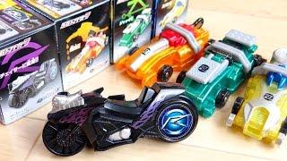 シグナルチェイサーが食玩で発売!SGシフトカー7全4種レビュー!マンターンジャッキースパーナ仮面ライダードライブタイプフォーミュラ