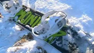 preview picture of video 'Snowboarding in Dunmow - Dec 09'