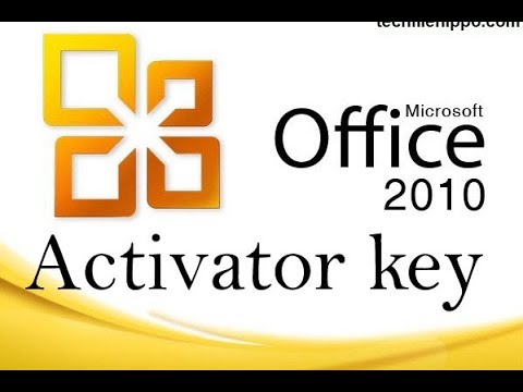 How to activate Microsoft Office  2010?
