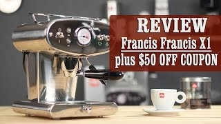 Review + $50 OFF coupon: Francis Francis for illy X1 iperEspresso Machine