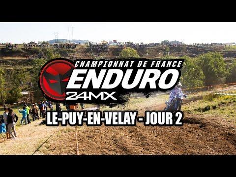 Championnat de France d'enduro Puy en Velay - J2
