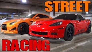 California STREETS - GTR's, Corvettes, & a CRV?!