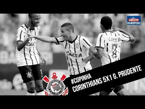 #Copinha | Corinthians 5x1 Grêmio Prudente