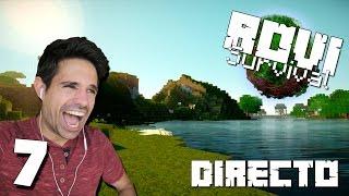 Rovi Survival Minecraft En DIRECTO | COMENZAMOS LA CASA MODERNA
