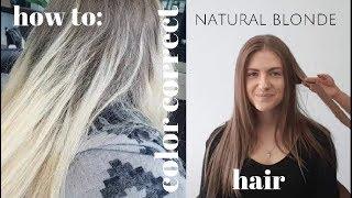 Color Correct NATURAL BLONDE Hair